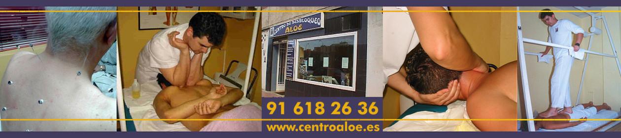 CENTROALOE, CENTRO DE DESBLOQUEO ALOE. MASAJES, OSTEOPATIA, ACUPUNTURA Y HOMEOPATIA. 16 AÑOS DE EXPERIENCIA.